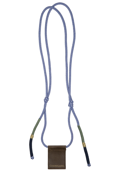 Chaingang Handsykette nightblue / olive