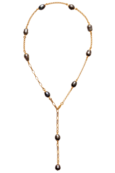 Halskette the black pearl