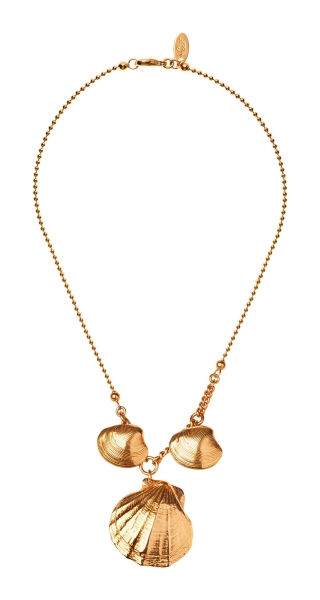 Collier Shell Gold