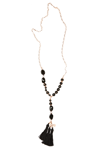 FELICE BLACK NECKLACE
